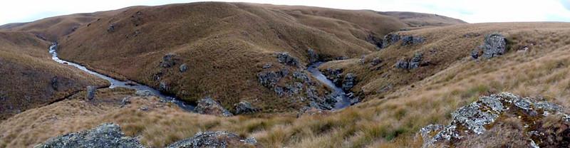 Lammermoor Range. Devils Creek.