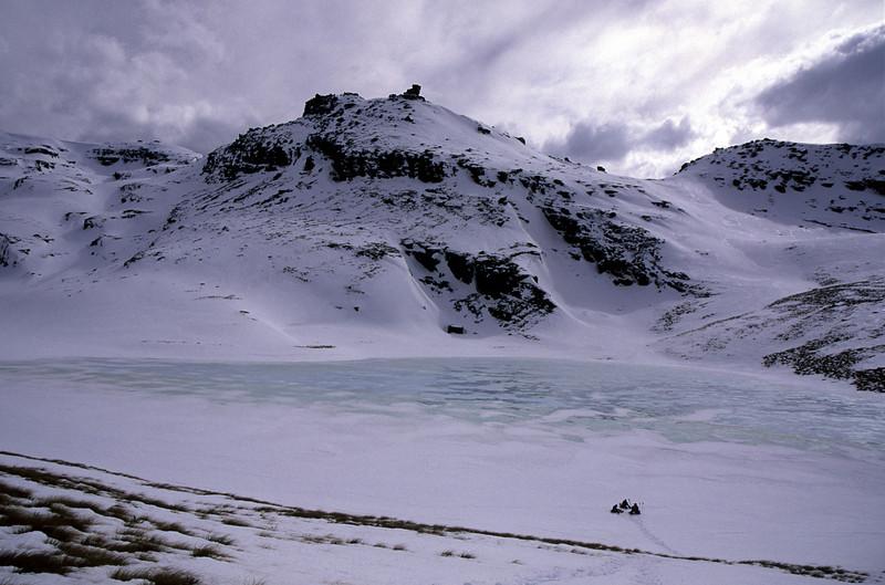 Skeleton Lakes, Garvie Mountains