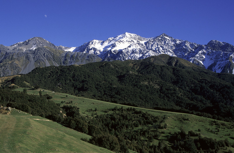 Te Ao Whekere, Seaward Kaikoura Range