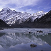 Hooker Lake and Mt Cook