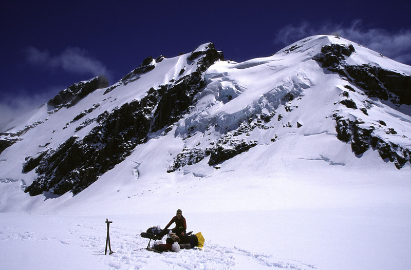 On Forgotten River Col