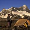 Campsite on Wilmot Saddle, East Matukituki Valley