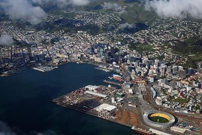 Wellington aerial