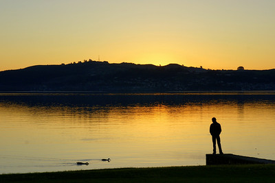 Lake Taupo Evening