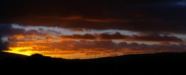 Manawatu Windfarm Sunrise