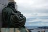 "Signal Hill, Dunedin. ""History"" sculpture, representing NZ's 1st. 100 years,"