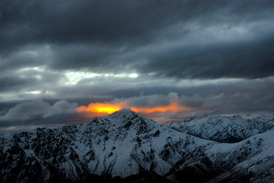 Southern Alps Sunset