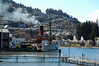 The Earnslaw getting up steam in Queenstown.