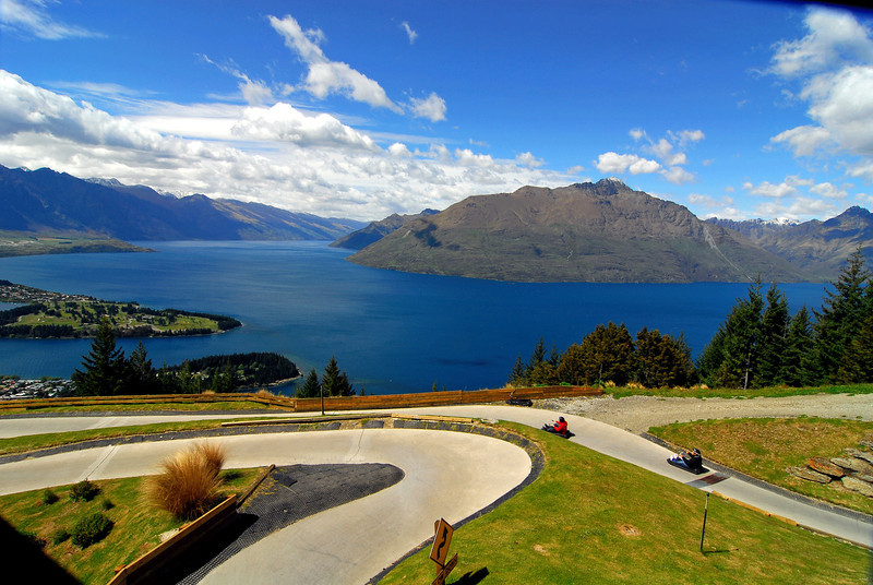 Luge, Bob's Peak, Queenstown.