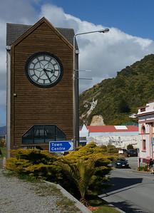Greymouth Clock Tower.