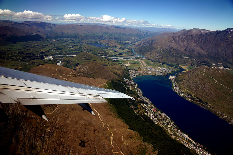 Queenstown, climbing out