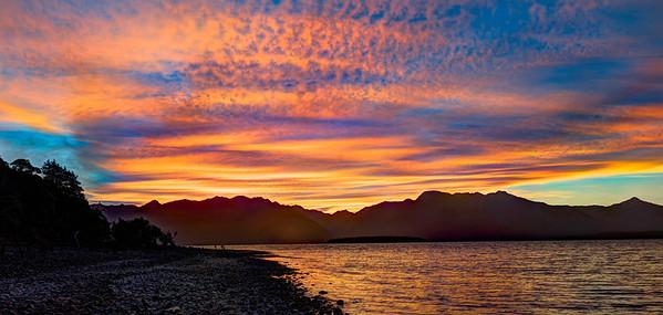Sunset at Lake Te Anau #2, New Zealand