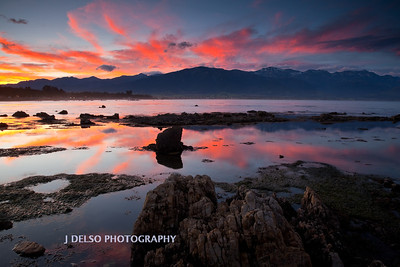 Kaikoura Beach Sunset NZ-4305