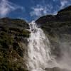 Underneath Sutherland Falls