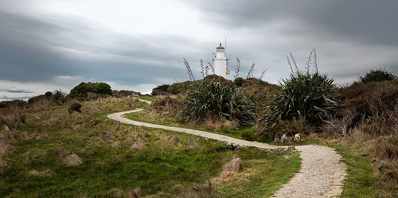 Path and lighthouse