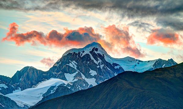 Sunrise at Mount Cook, New Zealand