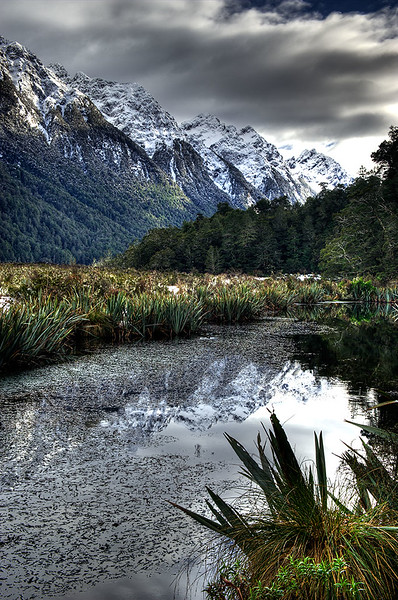 Mirror Lake 2, New Zealand
