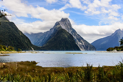 Milford Sound, Mitre Peak, South Island New Zealand