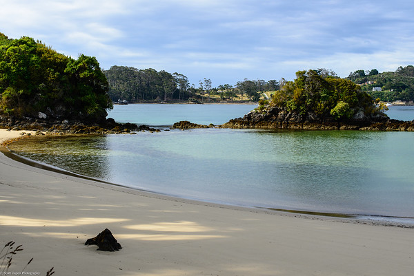 Bragg Bay, Stewart Island, New Zealand