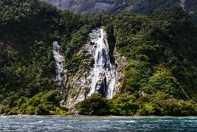 Bowen Falls, Milford Sound, New Zealand