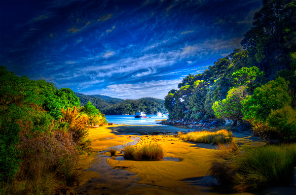 Abel Tasman, New Zealand