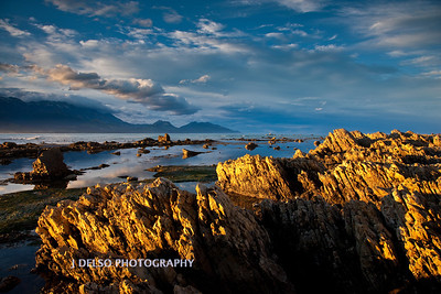 Kaikoura Beach Sunset NZ-4269