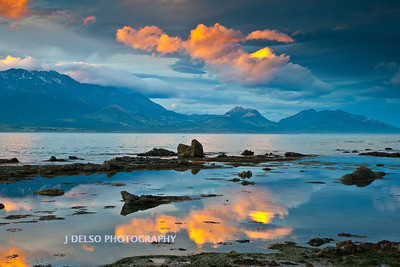 Kaikoura Beach Sunset NZ-4288