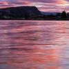 Lake Wanaka in Pink