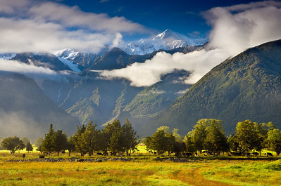 Mt Cook in the Clouds
