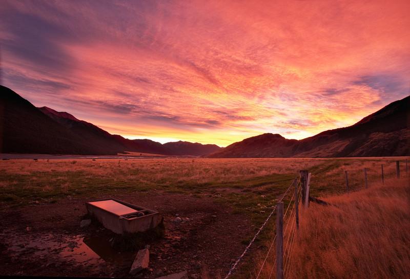 Sunrise Over Arthurs Pass
