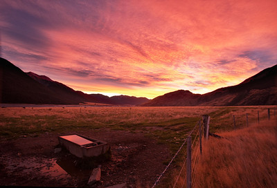 Sunrise Over Arthurs Pass