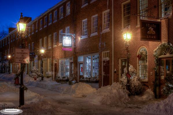 Inn Street Holiday Snow