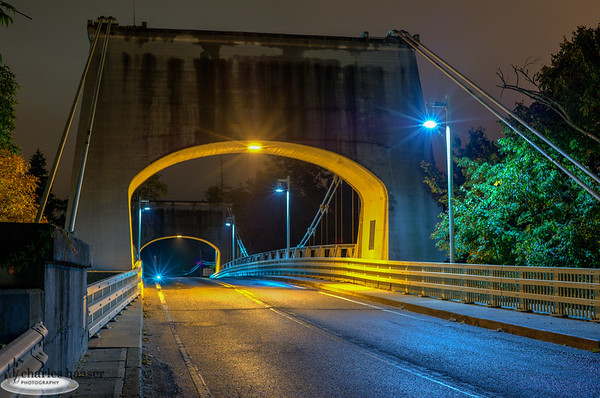 Chain Bridge Morning Light