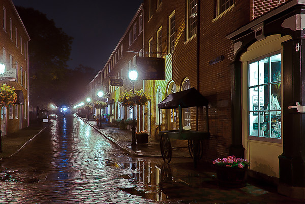 """After the Rain"" Newburyport, Massachusetts"