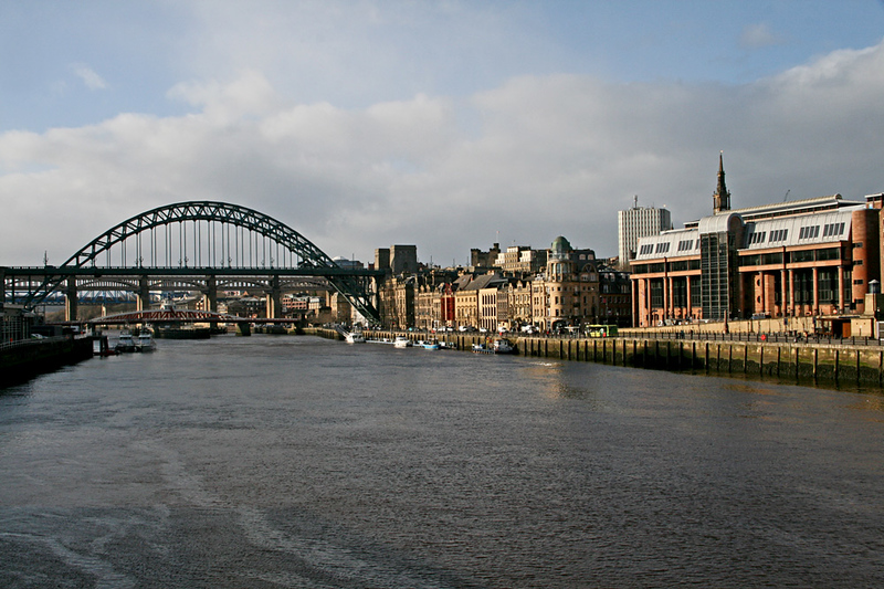 A walk along the Tyne in January 2018