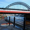 A January walk along the Newcastle Quayside