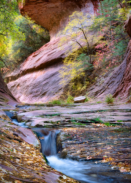 Sedona Fall Light