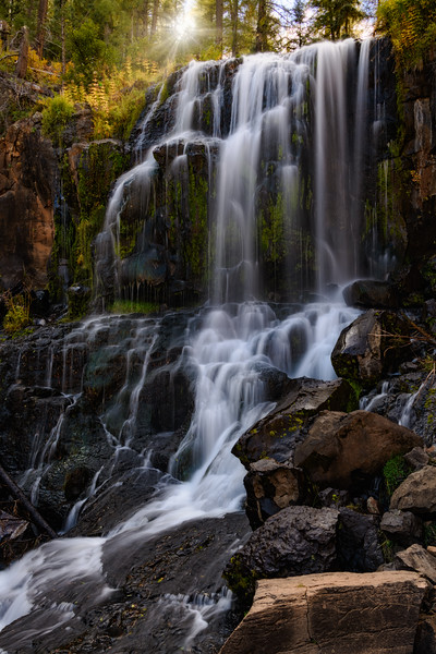 Sunburst Waterfall
