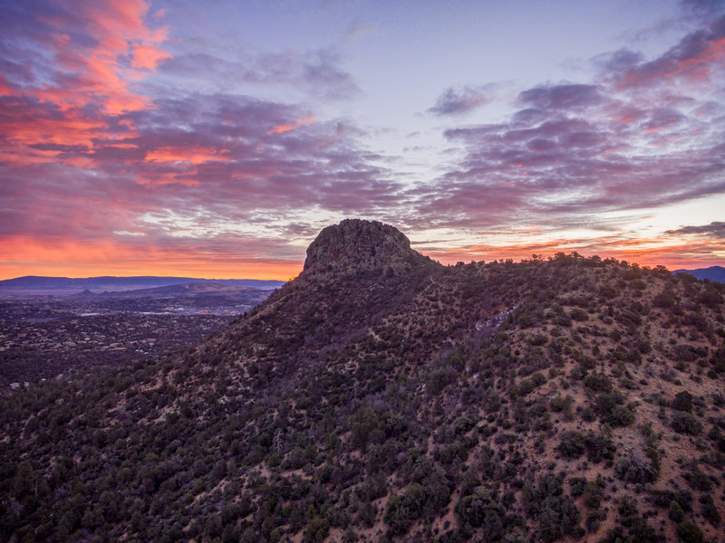 Thumb Butte Sunrise