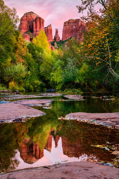 Cathedral Rock Reflected