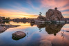 June sunrise on Watson Lake in Prescott, Arizona