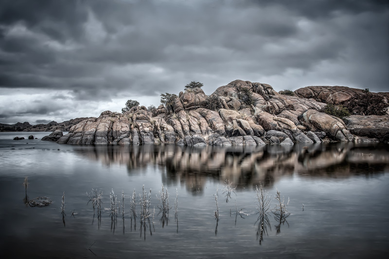 Reflected Granite