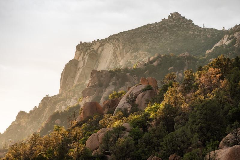 Soft light on Granite Mountain