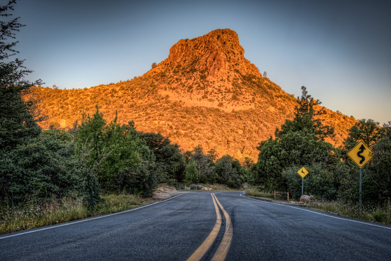Thumb Butte at Dawn