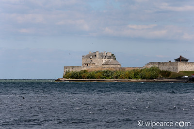 Fort Niagara on the American side of the Niagara River at Lake Ontario.