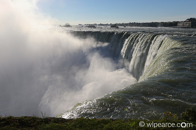 Brink of the Horseshoe Falls, Niagara Falls, ON