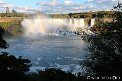 Niagara American Falls with Rainbow