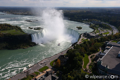 Horseshoe Falls from Skylon Tower.