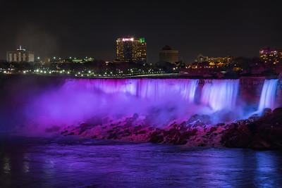Purple American Falls