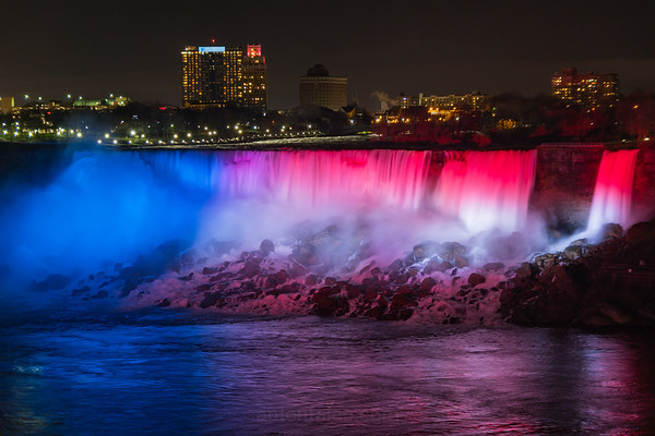 Niagara Falls In American Colors
